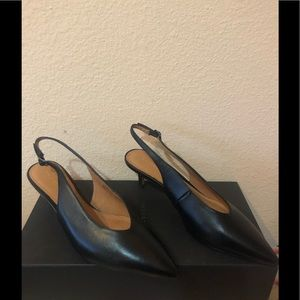 """Shoes """"Halogen"""", size 5.5, leather"""